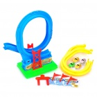 Funny Assembly Roller Coaster IQ Training Toy Set with Music - Colorful (2 x AA Battery)