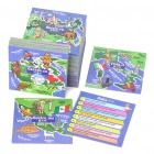 BrainBox All Around The World Memory Recall Card Game (71-Card)