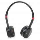 Stilvolle Bluetooh V2.0 Wireless Headset - Schwarz (6 Stunden-Talk)