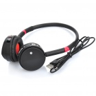 Stylish Bluetooh V2.0 Wireless Headset - Black (6 Hours-Talk)