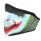 The Joker Style Outdoor Face Mask Shield Guard for Cycling/Mountaineering