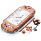Replacement Full Housing Case w/ Buttons for PSP 2000 - Bronze