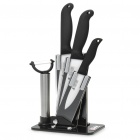 A BRAND 5-in-1 Kitchen Zirconia Ceramics Blade Knifes Set