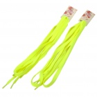 Reflective Shoe Laces Shoelaces - Green Yellow (Pair)