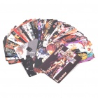 Anime Death Note Pattern Paper Playing Cards Poker Set (54-Piece Set)