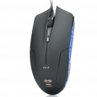 Genuine E-Blue Cobra USB 2.0 Optical Precision Gaming Mouse - Black
