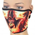 Ghost Rider Style Outdoor Face Mask Shield Guard for Cycling/Mountaineering