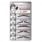 Stylish Costume Artificial Mustache (Set of 5)