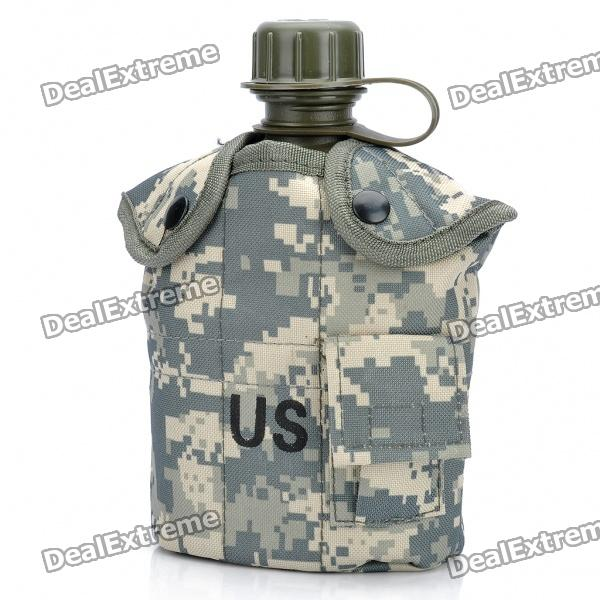 Outdoor Water Bottle Jug - Army Green (1L)