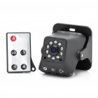 CMOS 1.3 Mega Pixel 10-LED Night Vision Surveillance Security Camera - Black