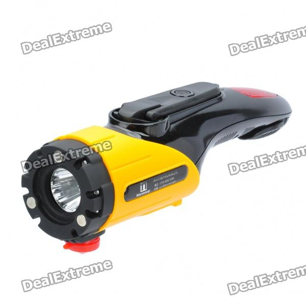 Hand Generator Powered Rechargeable Car Emergency Lights w/ Flashlight/Charger/Knife/Hammer