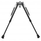 "9"" Retractable Aluminum Alloy Tactical Spring Loaded Bipod Rifle Stand for M4 / M16 (Max. 80Kg)"