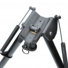 "27 ""de aleación de aluminio retráctil Spring Loaded Tactical Rifle soporte bípode para M4 / M16 (Max. 80Kg)"