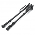"27"" Retractable Aluminum Alloy Tactical Spring Loaded Bipod Rifle Stand for M4 / M16 (Max. 50Kg)"