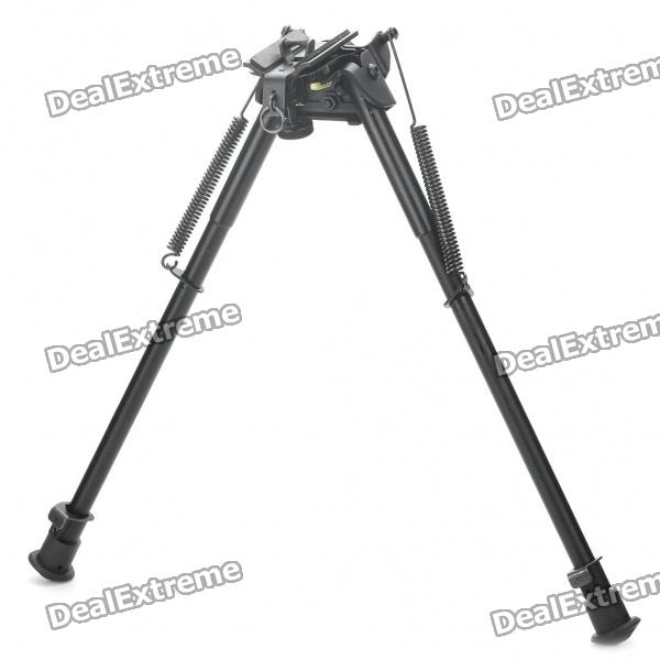 13 Retractable Aluminum Alloy Tactical Spring Loaded Bipod Rifle Stand for M4 / M16 (Max. 80Kg) 27 retractable aluminum alloy tactical spring loaded bipod rifle stand for m4 m16 max 50kg