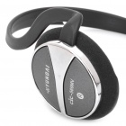 Genuine HYUNDAI CiC-569 Stereo Headphone with Microphone - Black + Silver