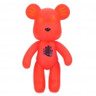 Chinese Blessing Fashion 7&quot; Momo Bear Cartoon Toy - Red