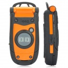 "Jeep A9 Ultra-Rugged GSM Cell Phone w/ 2.0"" LCD, Dual SIM, Dual-band and FM - Black + Orange"
