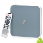 1080P Full HD Android 2.3 Media Player TV Set Top Box w/ 2 x USB/SD/HDMI/RJ45/AVout - Grey + White