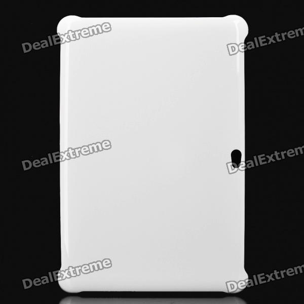 "Protective Plastic Back Case for Samsung Galaxy Tab 10.1"" P7510 - White"