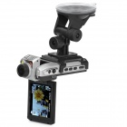 5.0MP CMOS 1080P Wide Angle Car DVR Camcorder w/ 4X Digital Zoom / HDMI / AV / SDHC (2.5