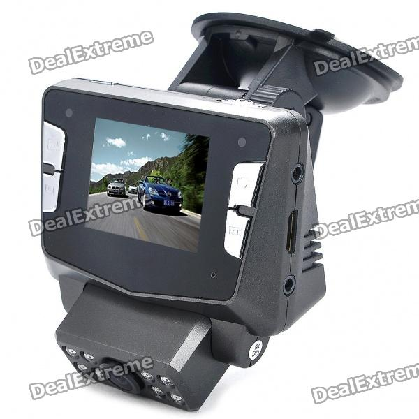 купить 1080P 5MP CMOS Wide Angle Car DVR Camcorder w/ GPS Module / 8-IR LED / HDMI / TV-Out / TF (2