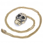 Stylish Skull Style Quartz Watch with Neck Chains (1 x 377)