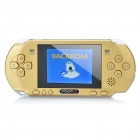 "2.7"" TFT LCD Handheld Gamebox Game Console with TV OUT - Golden"