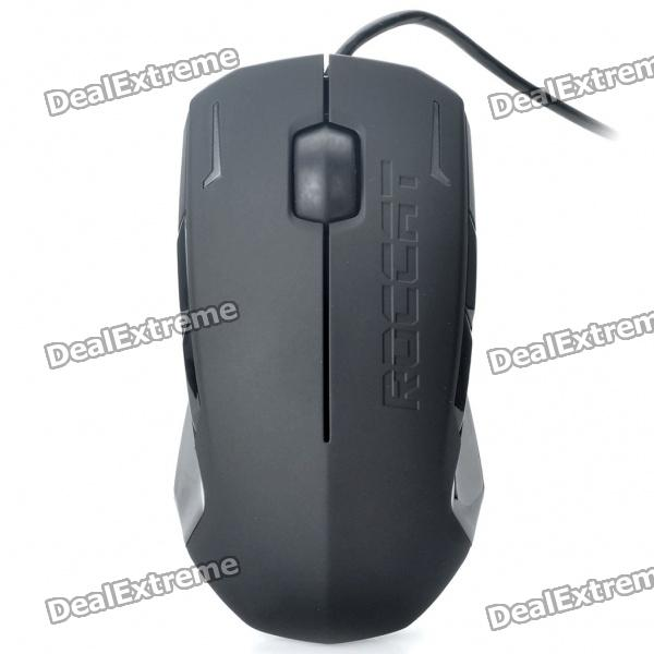 Genuine Roccat Kova 3200DPI USB Wired Gaming Optical Mouse - Black (190CM-Cable) kova