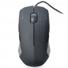 Genuine Roccat Kova 3200DPI USB Wired Gaming Optical Mouse - Black (190CM-Cable)