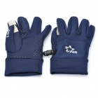 Universal Touch Screen Winter Gloves for Iphone/Ipad - Deep Blue (Pair/Size-S)
