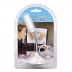 Microphone de bureau USB Mini cou Flexible - blanc