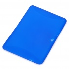 "Protective TPU Back Case for Samsung Galaxy Tab 10.1"" P7510 - Translucent Blue"