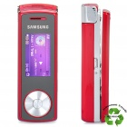 "Refurbished Samsung SGH-F210 GSM Slide Phone w / 1,5 ""LCD, Triple-Band-und JAVA - Rot (1 GB)"
