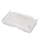 Flip-open Crystal Clear Case with Strap for DS Lite (White)
