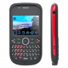 "S635 QWERTY Quad SIM GSM TV Barphone w/ 2.2"" LCD Screen, Quadband, Java + FM - Black"