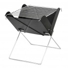 Camping Stove BBQ Grill with Carrying Bag - Black