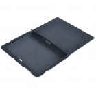 Protective PU Leather Case with Cleaning Cloth for Samsung P7510 - Black