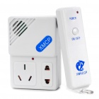 Wireless Remote Control AC Power Socket (AC 220V / 2-Flat-Pin Plug)