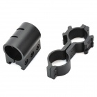 CXJG9G Green Laser Gun Aiming Sight Bore Sight with Mounts - Black