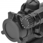 1X 33mm Red/Green Dot Rifle Scope - Black (2 x AG13)