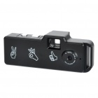 Q6 Mini-Screen-Free 720P Camcorder w / TF Slot - Schwarz