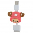 Cute Chopper Retractable USB Data / Charging Cable for iPhone 4 / 4S (80cm)