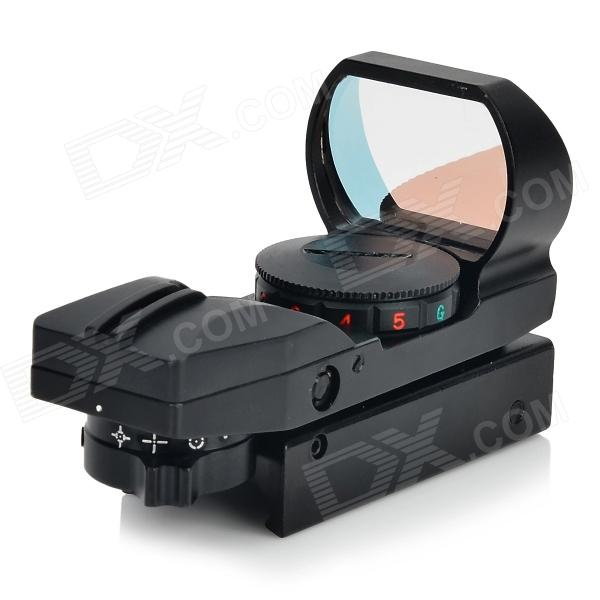 1X 33mm Red/Green Dot Sight Rifle Scope with Wrench (1 x CR2032)