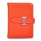 Stylish Leather Business Credit Card Holder Case Bag (20-Pocket / Random Color)