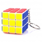 Mini Plastic Magic IQ Cube with Keychain