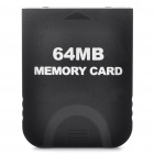 64MB Memory Card for Nintendo Wii (Black)