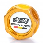 32mm Aluminum Alloy Gas / Oil Tank Cap - Golden