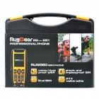 RugGear RG-851 Ultra-Rugged Waterproof GSM Cellphone w/ GPS, Dual SIM, 2GB TF, JAVA and PTT - Yellow