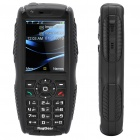 RugGear RG-851 Ultra-Rugged Waterproof GSM Cellphone w/ GPS, Dual SIM, 2GB TF, JAVA and PTT - Black